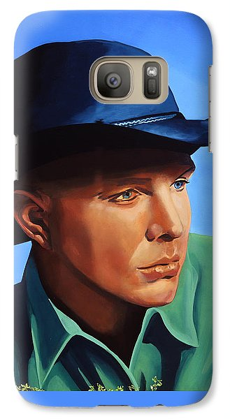 Saxophone Galaxy S7 Case - Garth Brooks by Paul Meijering