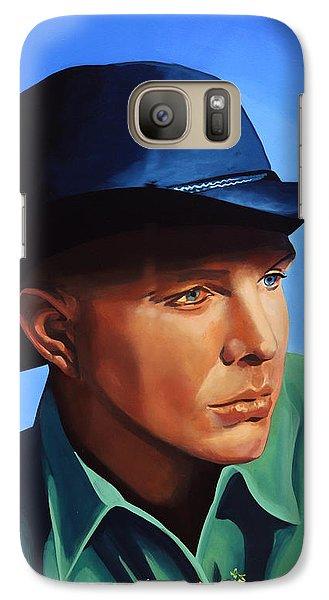 Saxophone Galaxy S7 Case - Garth Brooks by Paul Meijering