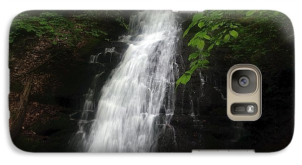 Galaxy Case featuring the photograph Garvey Spring Falls by Debra Fedchin