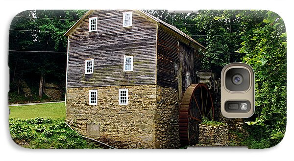 Galaxy Case featuring the photograph Garvines Grist Mill by Bob Sample