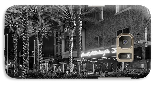Galaxy Case featuring the photograph Gaslamp Evening by Jeremy Farnsworth