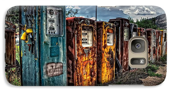 Galaxy Case featuring the photograph Gasoline Alley by Ken Smith