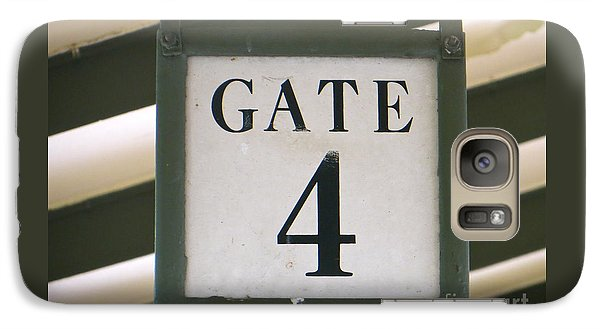 Galaxy Case featuring the photograph Gate #4 by Joy Hardee