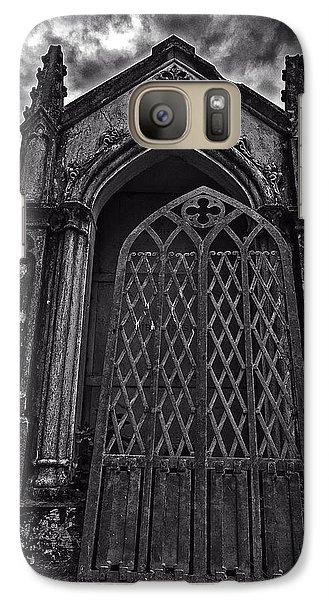 Galaxy Case featuring the photograph Gates Of Hades by Andy Crawford