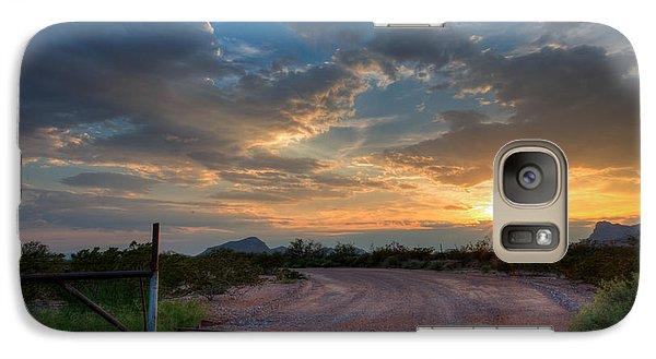 Galaxy Case featuring the photograph Gateway by Allen Biedrzycki