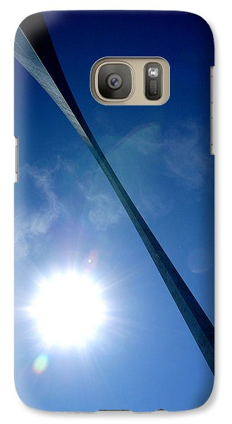 Galaxy Case featuring the photograph Arch Study 2 by Christopher McKenzie