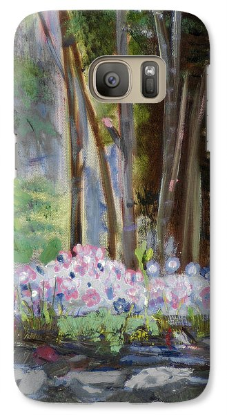 Galaxy Case featuring the painting Gateway At The Balsams by Michael Daniels