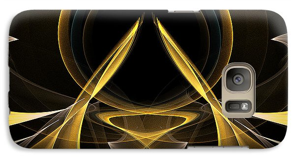 Galaxy Case featuring the digital art Gateway by Linda Whiteside