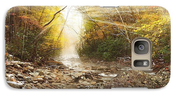 Galaxy Case featuring the photograph Gatlinburg Trail In Snow by Coby Cooper
