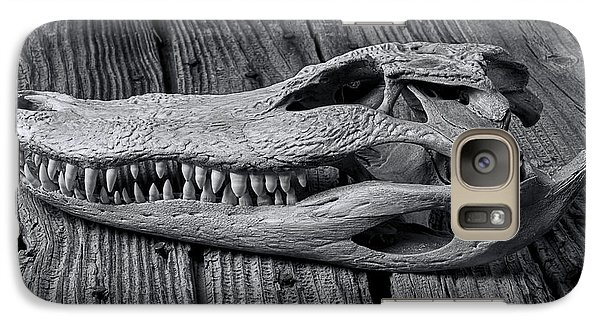 Gator Black And White Galaxy S7 Case