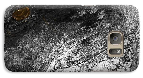 Galaxy Case featuring the photograph Gator Jaw by Joseph G Holland