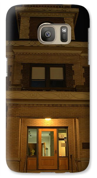 Galaxy Case featuring the photograph Geaorgetown Clock Tower by Jerry Cahill