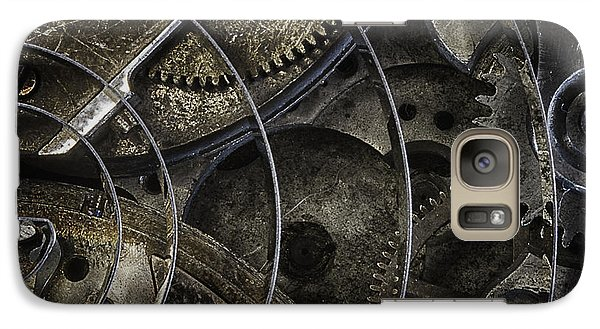 Galaxy Case featuring the photograph Gears by Vicki DeVico