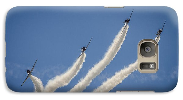 Galaxy Case featuring the photograph Geico Sky Typers 2 by Bradley Clay