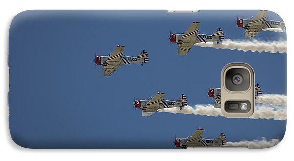 Galaxy Case featuring the photograph Geico Sky Typers  by Bradley Clay