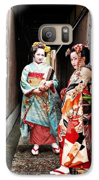 Galaxy Case featuring the photograph Geisha Alley by John Swartz
