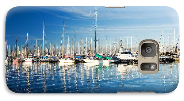 Galaxy Case featuring the photograph Gem Pier Of Williamstown by Yew Kwang