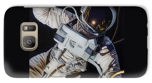 Gemini Iv- Ed White Galaxy Case by Simon Kregar