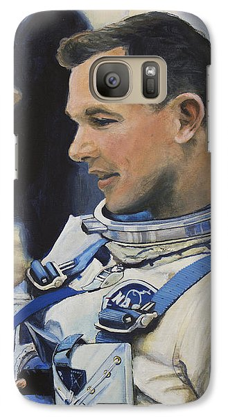 Gemini Viii Dave Scott Galaxy Case by Simon Kregar