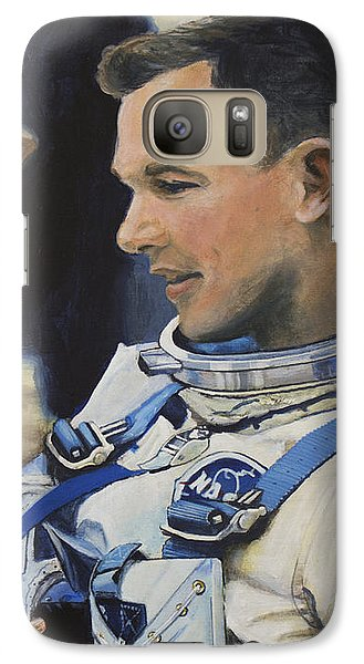 Astronaut Galaxy S7 Case - Gemini Viii Dave Scott by Simon Kregar