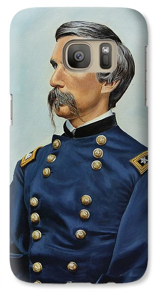 Galaxy Case featuring the painting General Joshua Chamberlain by Glenn Beasley