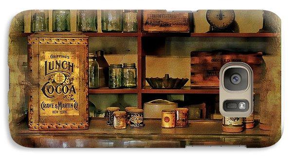 Galaxy Case featuring the photograph General Store by Allen Beilschmidt