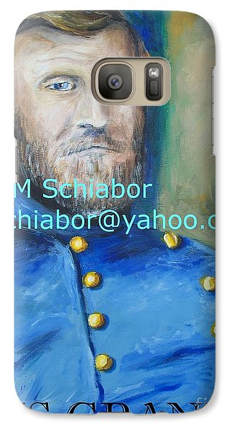 Galaxy Case featuring the painting General Us Grant  by Eric  Schiabor