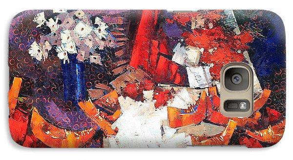 Galaxy Case featuring the painting Generous August. by Anastasija Kraineva