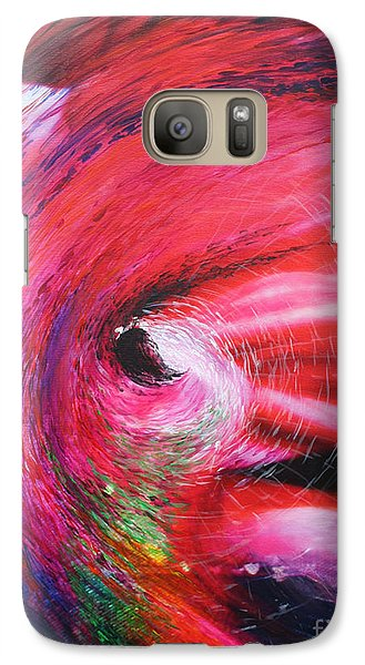 Galaxy Case featuring the painting Genesis by Jeanette French