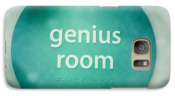 Galaxy Case featuring the photograph Genius Room by Nina Prommer