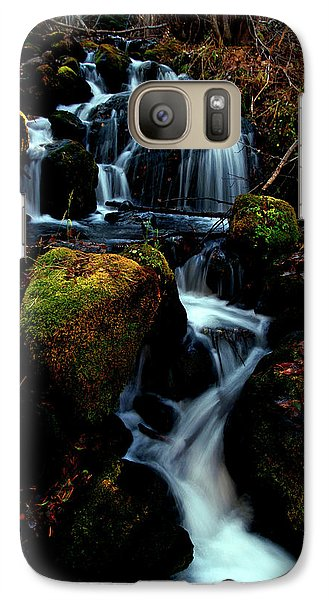 Galaxy Case featuring the photograph Gentle Descent by Jeremy Rhoades