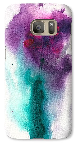 Galaxy Case featuring the painting Gentle Moments by Frank Bright