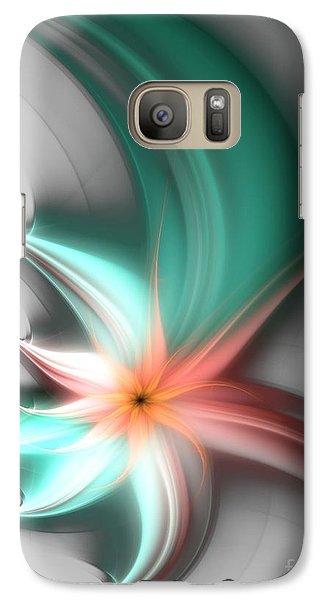 Galaxy Case featuring the digital art Gentle Touch by Svetlana Nikolova