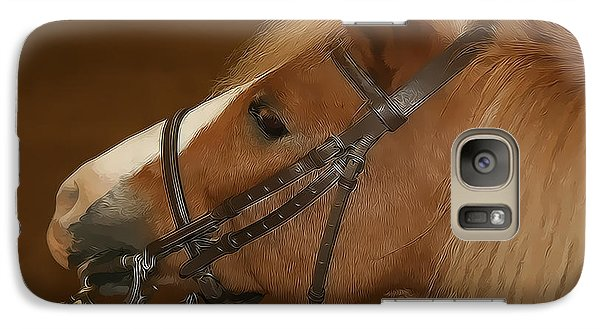 Galaxy Case featuring the photograph Genuine Pony by Jerome Lynch