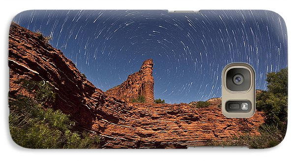 Geology And Space Galaxy S7 Case by Melany Sarafis