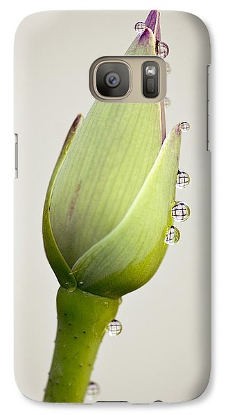 Galaxy Case featuring the photograph Geometric Drops by Priya Ghose