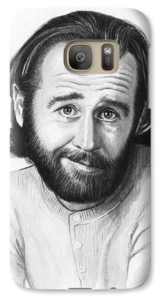 George Carlin Portrait Galaxy S7 Case
