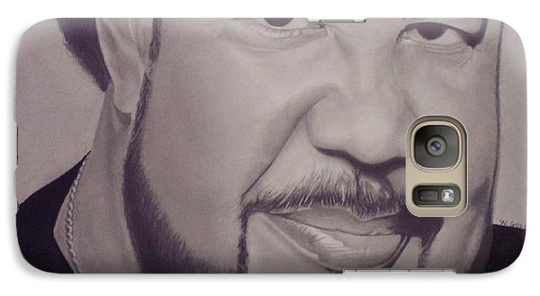 Galaxy Case featuring the drawing George Duke by Wil Golden
