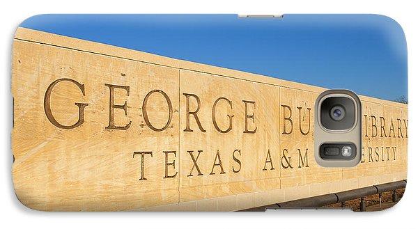 George Bush Galaxy S7 Case - George H. Bush Library, Texas by Bill Bachmann