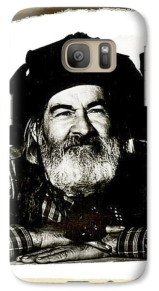 George Hayes Portrait #1 Card Galaxy S7 Case