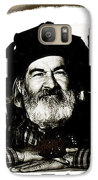 George Hayes Portrait #1 Card Galaxy S7 Case by David Lee Guss