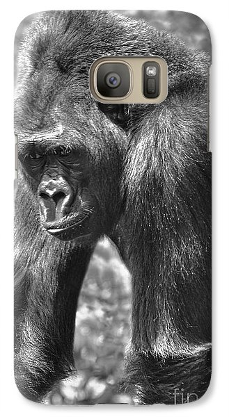 Galaxy Case featuring the photograph George Of The Jungle by Adam Olsen