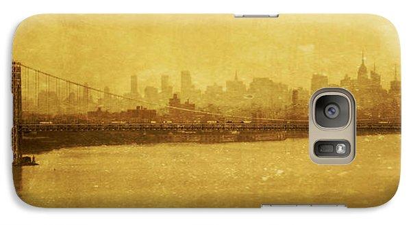 Galaxy Case featuring the photograph George Washington Bridge by Debra Fedchin