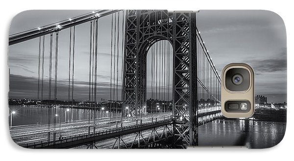 George Washington Bridge Morning Twilight II Galaxy S7 Case