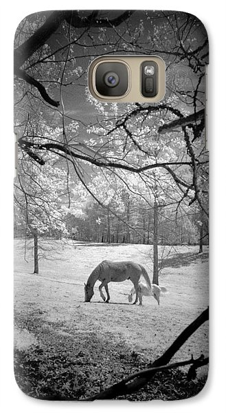 Galaxy Case featuring the photograph Georgia Horses by Bradley R Youngberg