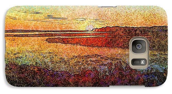Georgian Bay Sunset Galaxy S7 Case