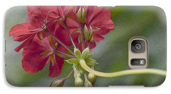 Galaxy Case featuring the photograph Geranium IIi by Wayne Meyer