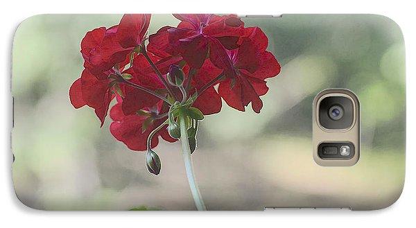 Galaxy Case featuring the photograph Geranium Iv by Wayne Meyer