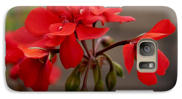 Galaxy Case featuring the photograph Geranium by Ivete Basso Photography