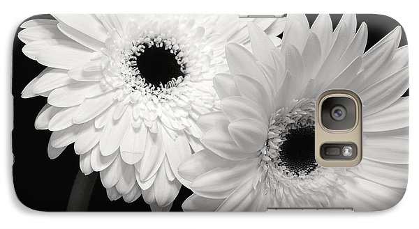 Galaxy Case featuring the photograph Gerbera Daisy Sisters by Jeannie Rhode